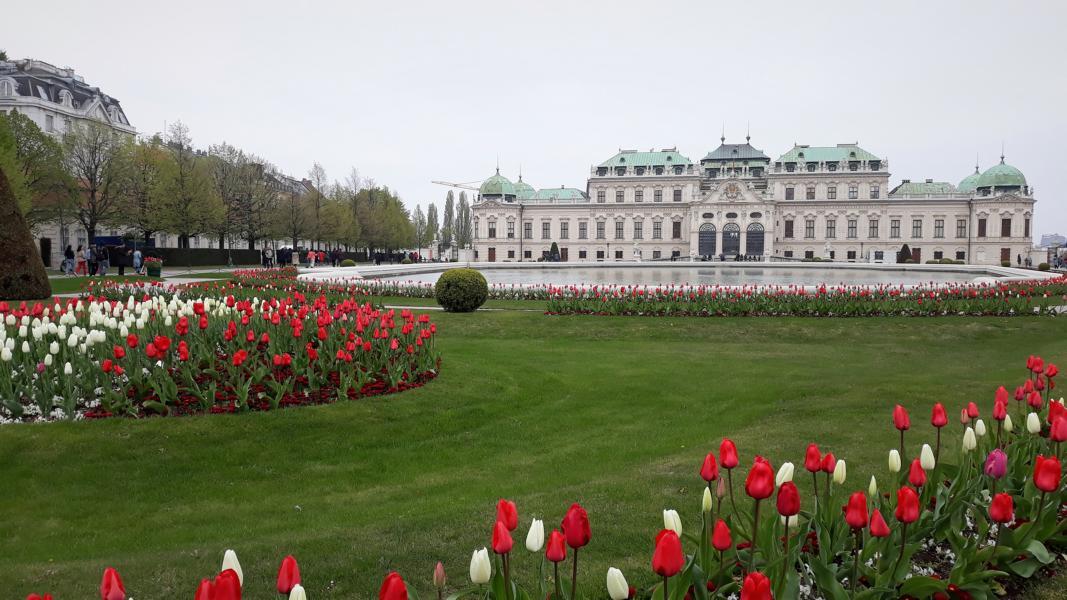Wien Oberes Belvedere