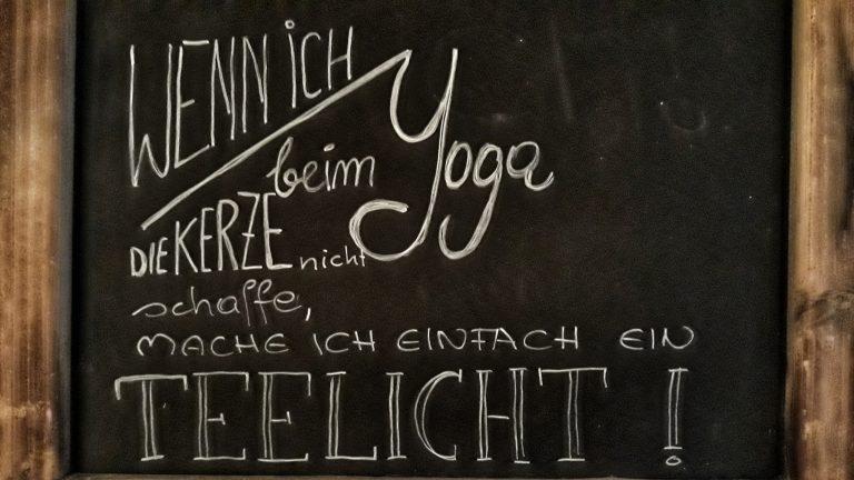 Yoga Spruch